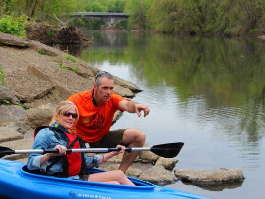 Ben Miller and his wife Debra are owners of Cocoa Kayakers, which rents kayaks for trips down the Swatara Creek.