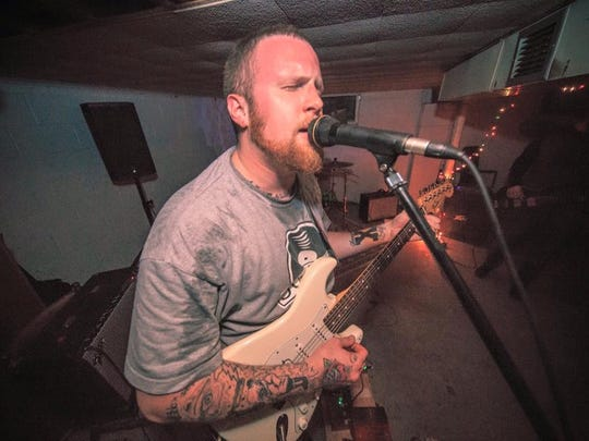 Newark rockers Carrier, led by singer/guitarist Jordan Maguire, will be one  of four acts competing in the annual Musikarmageddon battle of the bands in Wilmington.