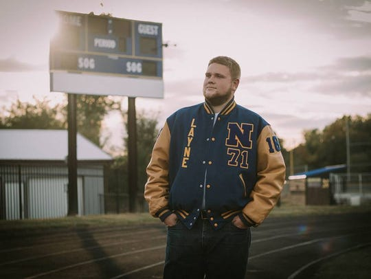 Now that football is over Layne Todd has his sights