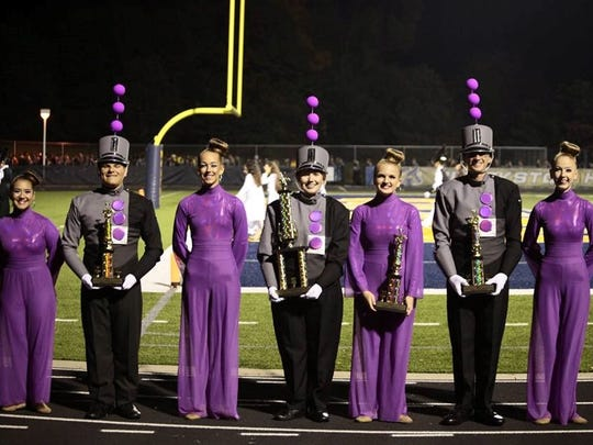 Plymouth-Canton won the gold at the Clarkston competition.