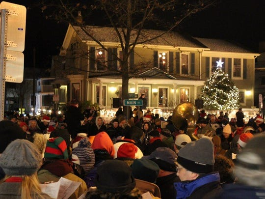 the east aurora carolcade is an annual event featuring - Skaneateles Christmas