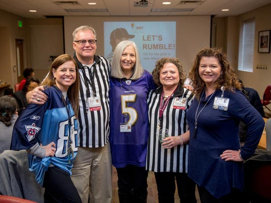 The Manager's Roundtable — a training and educational forum for mid-level leaders — celebrated the Super Bowl.