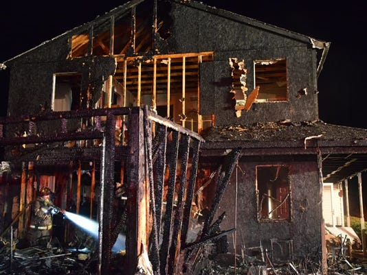 Fire from a cigarette displaces four in West Manchester Township