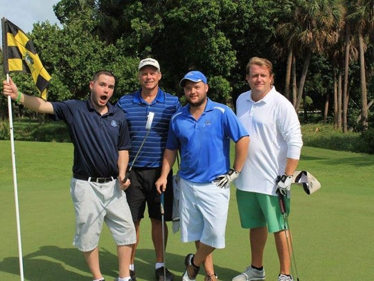 Jason Bryner, at left, loved to play golf. He was killed