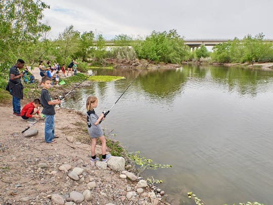 During the Tres Rios Nature Festival, visitors can try activities such as fishing, boating, canoeing and archery.The Tres Rios Nature Festival exposes visitors to the Base and Meridian Wildlife Area.