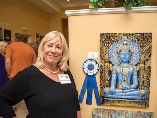 Linda Nicol of Palm City won first place in the open