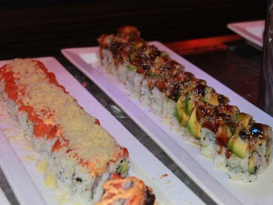 Mikado Supreme Buffet includes sushi and a hibachi grill.