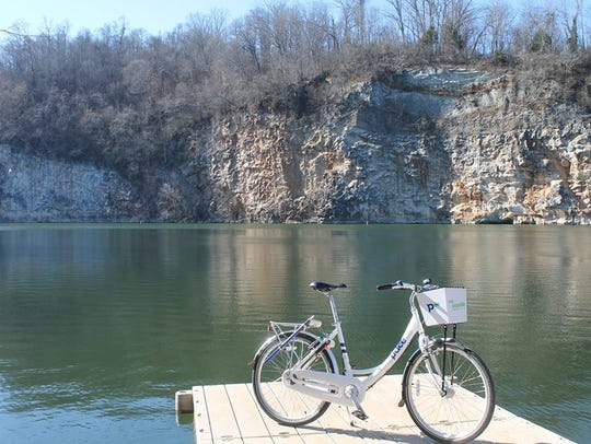 Bikes have been spotted at Mead's Quarry.