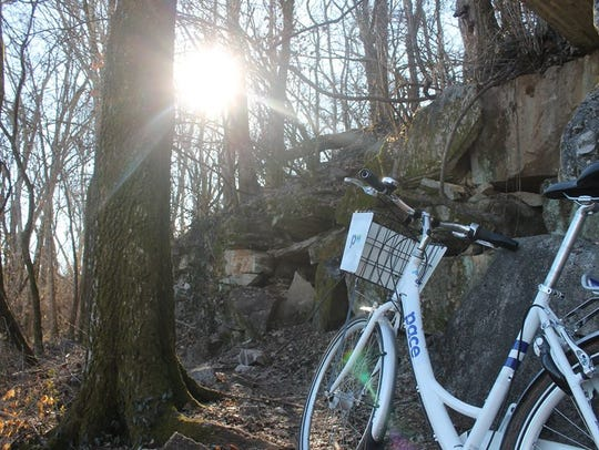 Pace bikes can be used on trails and greenways, as