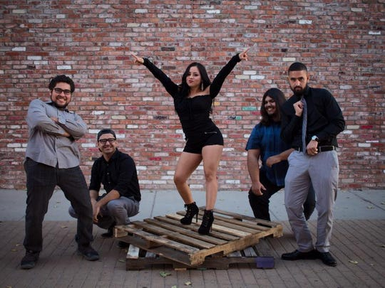 The El Paso band Steel Queen will perform as part of the Cinco de Mayo celebration at District Pub & Grill.