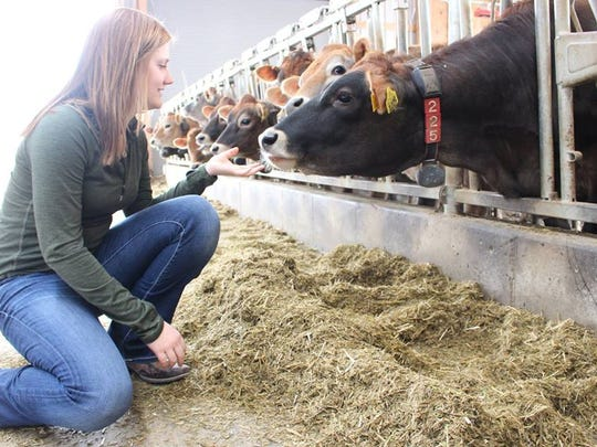 """Ted Halbach, who oversees undergraduate recruiting for the UW-Madison's dairy science department, says Bucky's Tuition Promise is a """"game changer for rural families."""""""