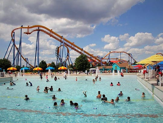 A look at Dorney Park's Wildwater Kingdom on a hot