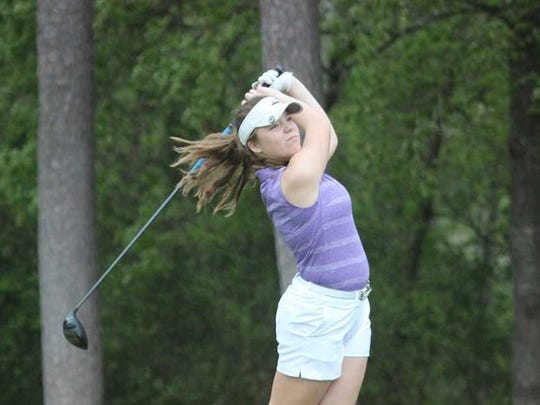 Faith Johnson was the individual medalist in sparking North to the SIAC girls' golf championship on Saturday at McDonald.