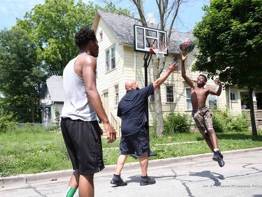 MPD, Safe & Sounds Basketball Hoop