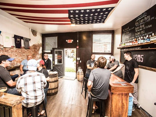 A look inside the 12.05 Distillery tasting room in