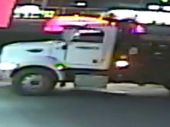 Alleged vehicle