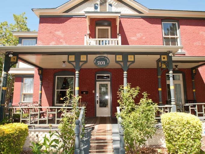 The Brittania & W.E. Mauger Estate Bed and Breakfast Inn, Albuquerque: For those interested in a unique, historic B&B in Albuquerque, the Brittania & W.E. Mauger Estate might be the perfect choice. The three-story red-brick Queen Anne-style home was built in 1897 and has been excellently maintained and restored -- but contemporary touches such as free Wi-Fi make this a contemporary property, as does its prime location near modern attractions (downtown and the Convention Center are a short walk away). Guests rave about the breakfasts, chocolate chip cookies and evening appetizers with wine, as well as the personal service and decor.