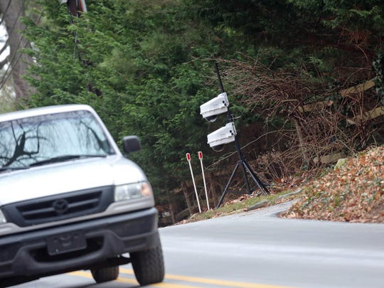 New security cameras have been installed in front of Vice President Joe Biden's residence on Barley Mill Road.