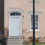 The building where Emma Crapser was killed, located on North Hamilton Street.