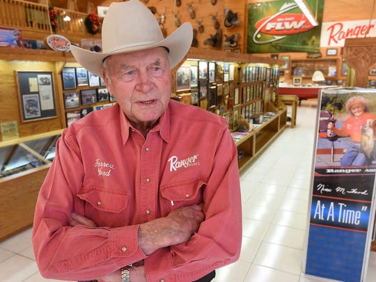 Ranger Boats founder Forrest L. Wood passed away Saturday. The legendary sportsman was 87 years old.