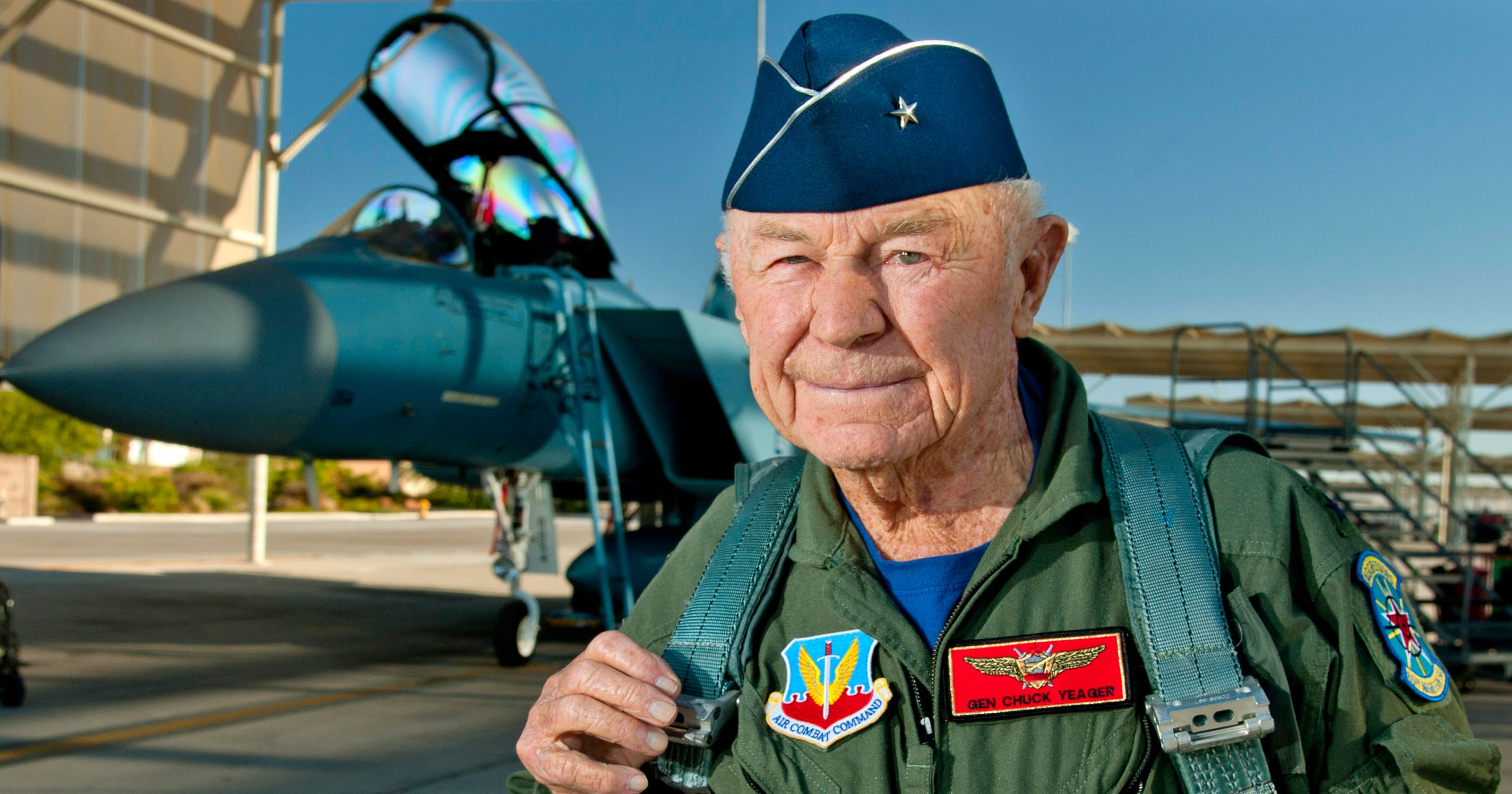 'America's greatest Pilot' Chuck Yeager, first person to break sound barrier, dies at 97