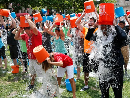 AP ICE BUCKET CHALLENGE A USA MA