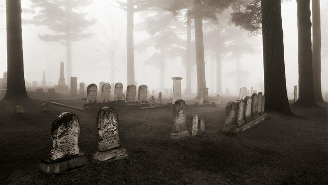1975: Graveyard in Fog in Peacham
