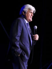 Comedian Jay Leno performs Friday night at Tuacahn Amphitheatre in Ivins City.