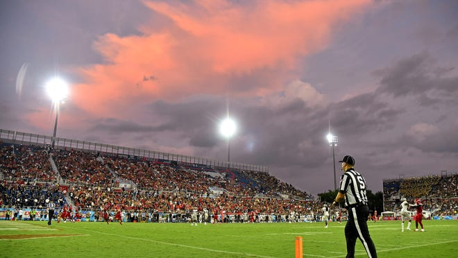 FAU will welcome football players back on campus June 8. Whether that leads to the football season being played this fall is unknown.
