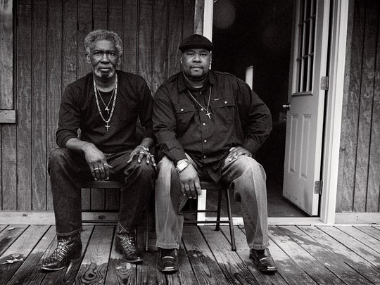 "Levon Brooks, left, and Kennedy Brewer of Noxubee County spent a combined three decades in prison for rapes and murders they did not commit. They were exonerated and released in 2008. Levon died of cancer on Jan. 24 of this year. From ""Levon and Kennedy"" © Isabelle Armand."