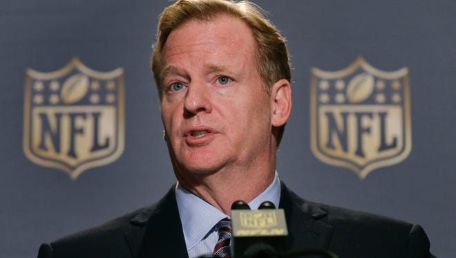 NFL Commissioner Roger Goodell said that he expects NFL owners will vote on franchise relocation to Los Angeles.