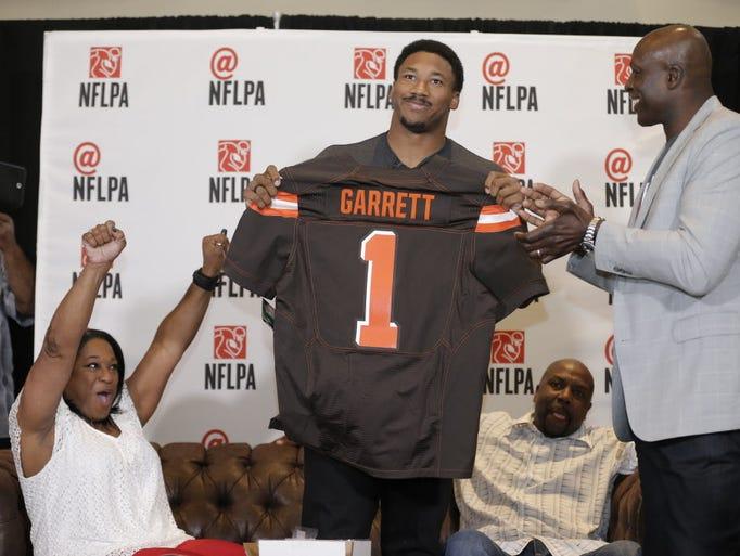 2017: Myles Garrett, DE, Texas A&M - Cleveland Browns