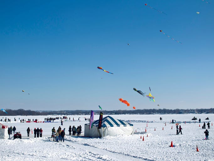 Kites and snow activities are among the things to do