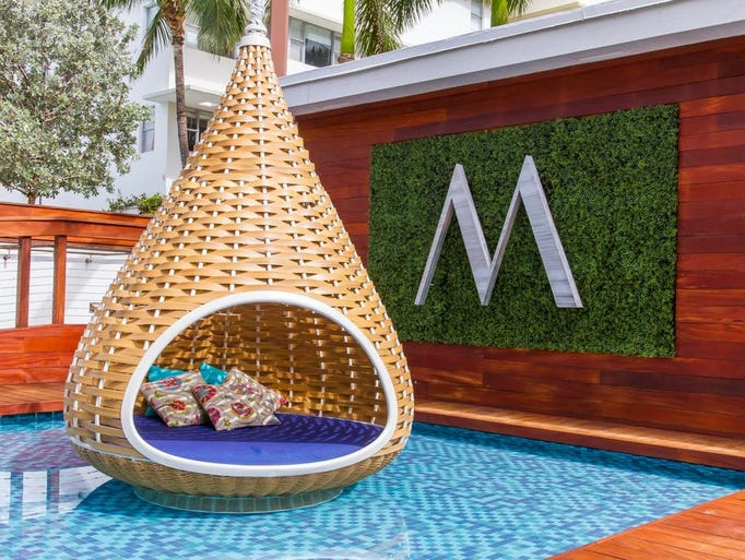 Marseilles Beachfront Hotel, Miami is about 15 percent