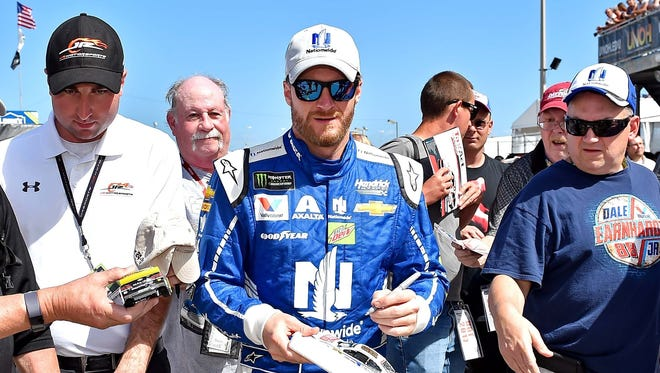 The star power of Dale Earnhardt Jr. - NASCAR's 14-time most popular driver - cannot be overstated.