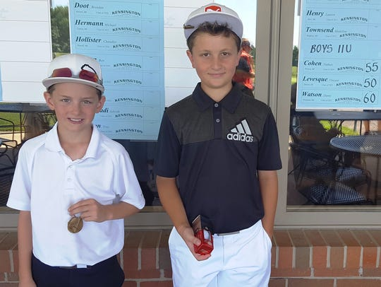 In the Boys 11-and-under, Detroiter Vincent Levesque