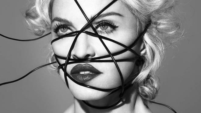 "Album cover for Madonna's ""Rebel Heart"" album."