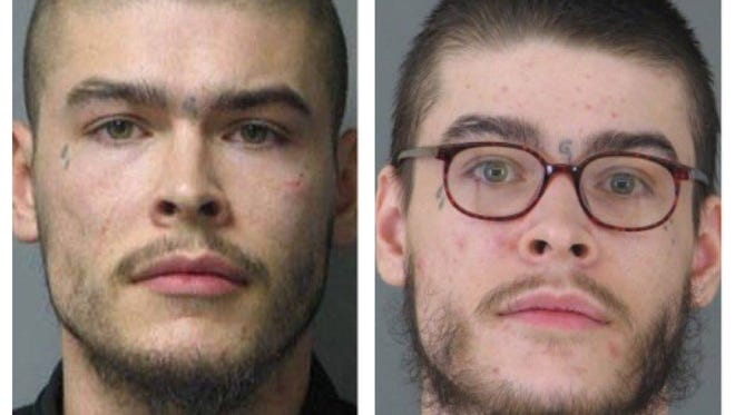 Escaped prisoner David Watson has been known to wear glasses.