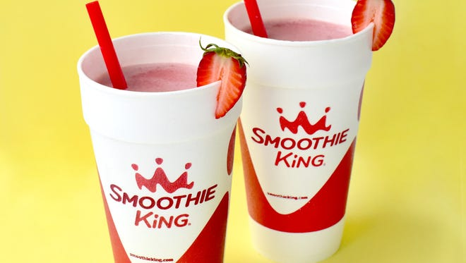 The Strawberry X-Treme smoothie at Smoothie King will be offered for free at the Springettsbury location in celebration of the store's fifth anniversary.