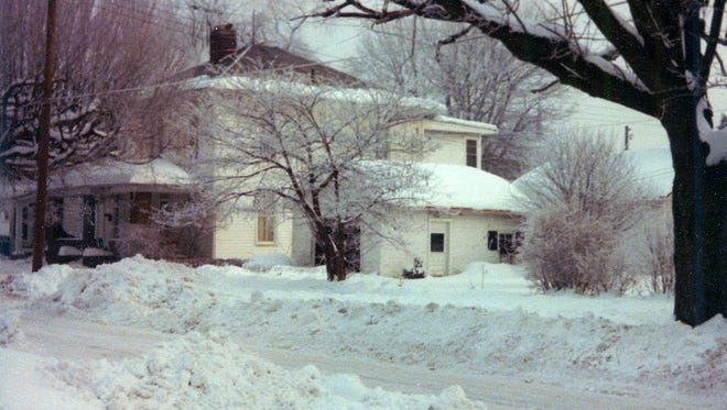 The blizzard of 1978 covered Ohio.
