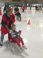 Central Regional hosted its 4th Annual Christmas Skate with Santa on Dec. 12.