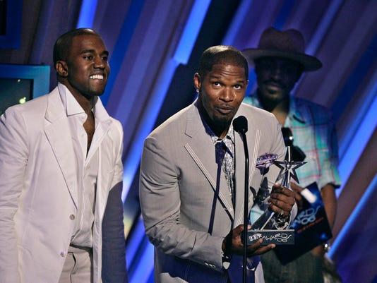 Kanye West, Jamie Foxx
