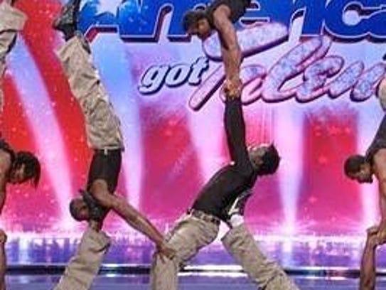 The Zuzu Acrobats perform on America's Got Talent.