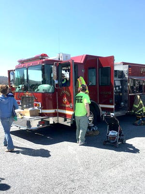 Quentin Volunteer Fire company is using a $7,000 grant to upgrade its air monitoring equipment