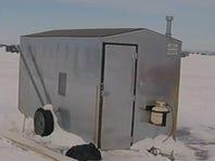 Ice shanty reported stolen off Lake Winnebago