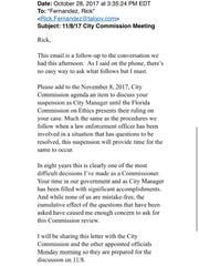 In an email, City Commissioner Gil Ziffer Saturday