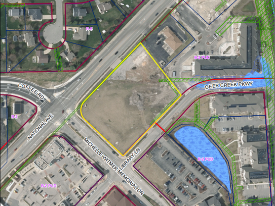 A PDQ is proposed for the western part of the site