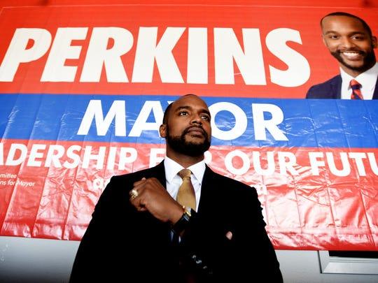 Adrian Perkins is running for Shreveport mayor.