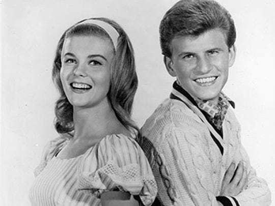 "Ann-Margret and Bobby Rydell were co-stars in 1963's ""Bye Bye Birdie,"""