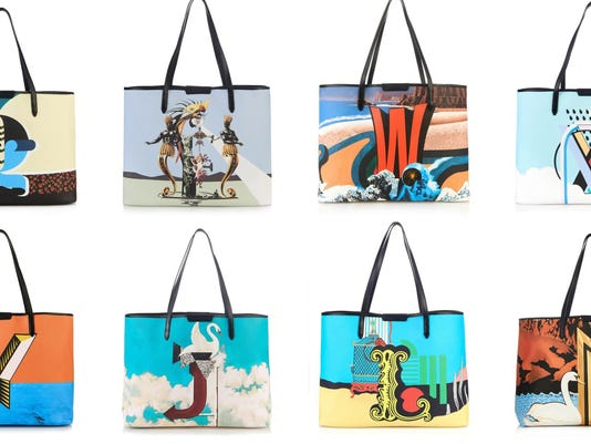 Sweet success: Bag collection has alphabet theme